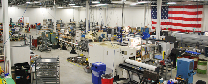 Curtiss-Wright EST Group Shopfloor